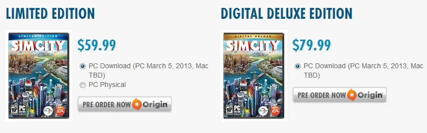 SimCity - 2013년 3월 8일 강림