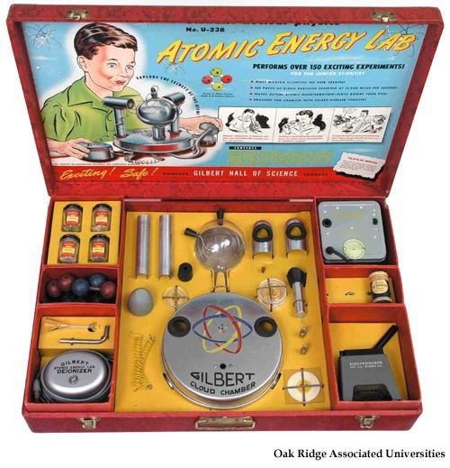 원자력 실험 장난감..