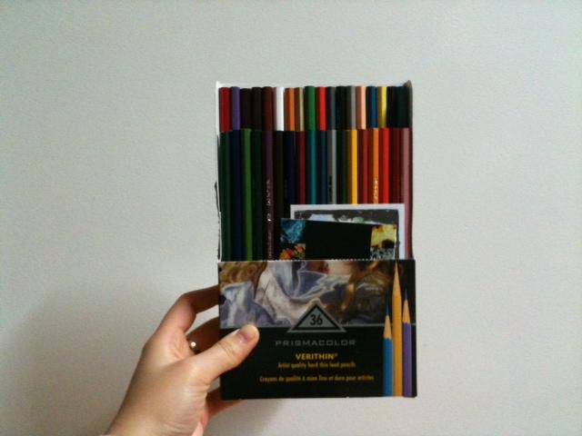 3주 이른 생일선물은 유성색연필 (꿈 vol.1)