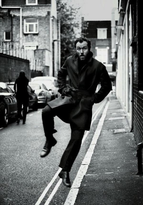 JUDE LAW in New York Times Style Magazine