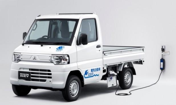미쓰비시의 MiEV 트럭