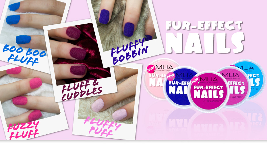 MUA Makeup Academy의 FUR-EFFECT NAILS