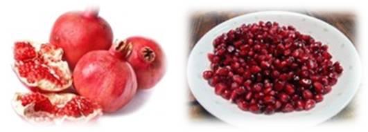 석류에 식욕을 억제하는 성분이 들어 있다