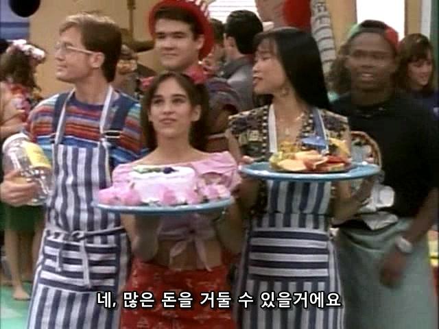 무적 파워레인저 시즌1 / 6화 - Food Fight 한글자막