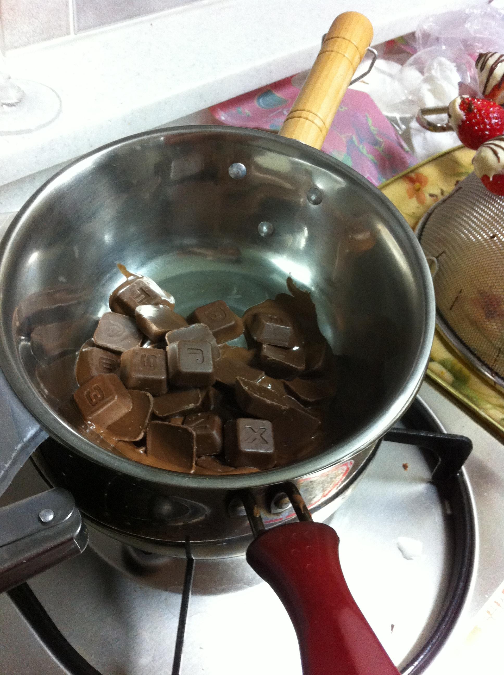 20120214 / 발렌타인데이 맞이 초콜렛 만들기