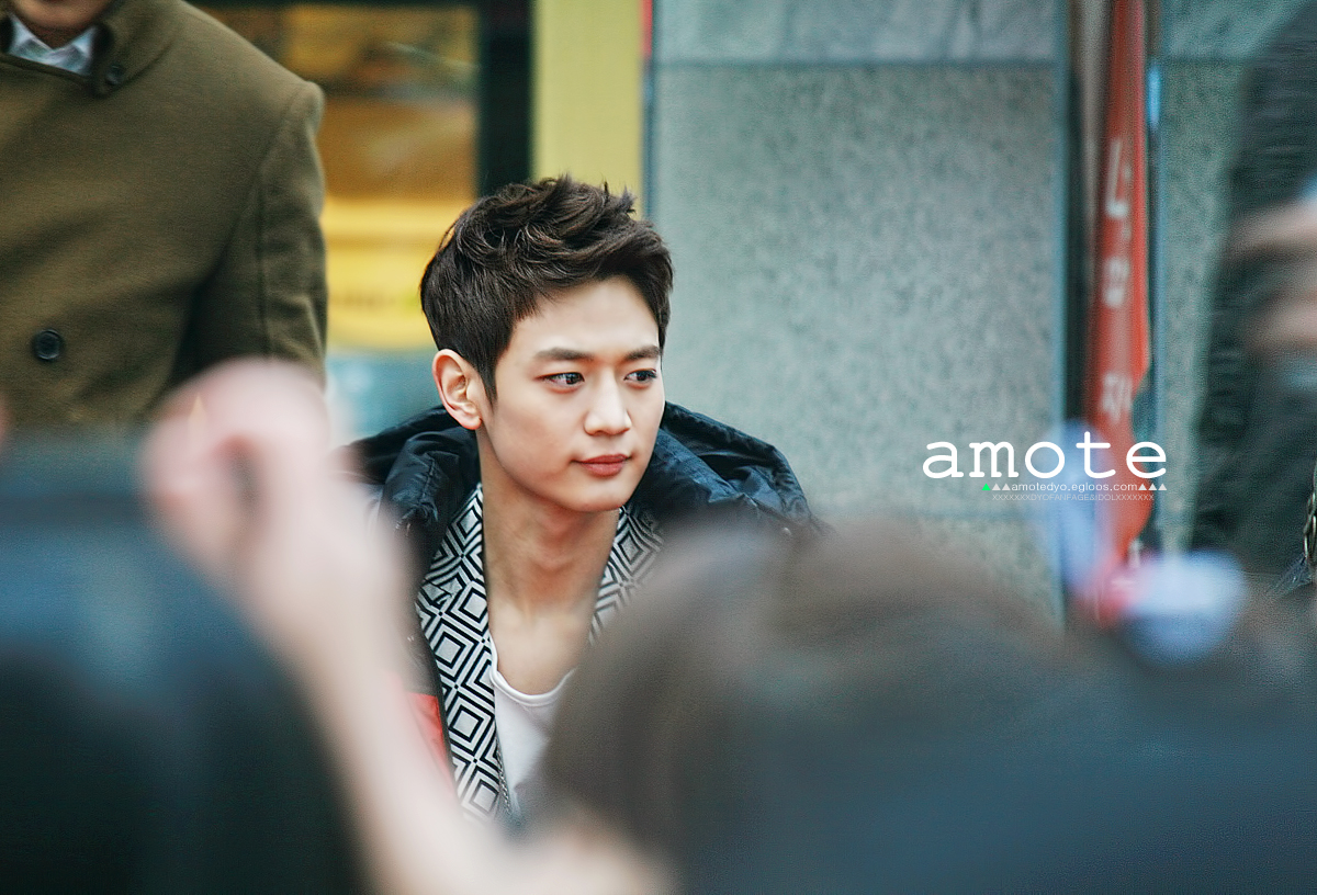 "130304 SHINee Busan fansign event ""min-ho"""