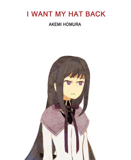[웹코믹] I WANT MY HAT BACK: Akemi Homura