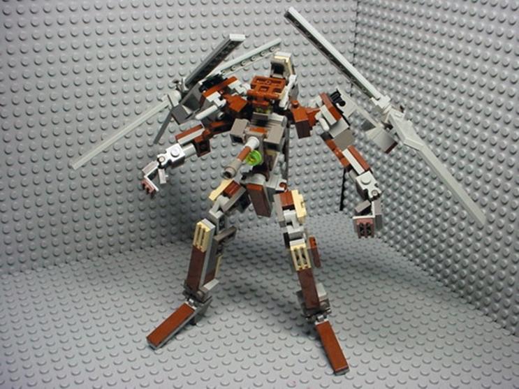 헬리콥터로 변신할 수 있는 레고 로봇