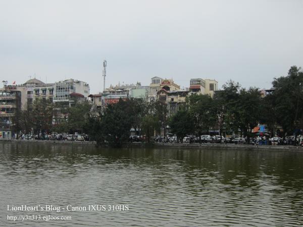 베트남 여행 - 하노이 - 호안끼엠 호수, 응옥썬 사당