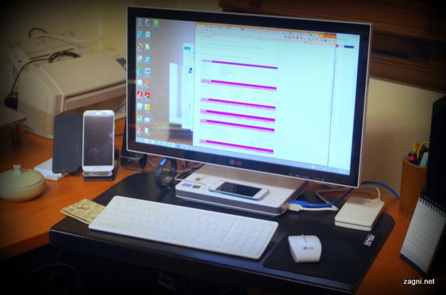 LG 일체형 PC, V325의 장점과 단점은?