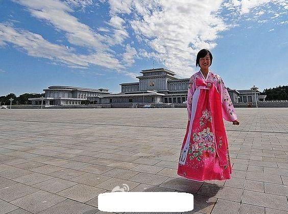 북한의 공중부양 착시? 사진