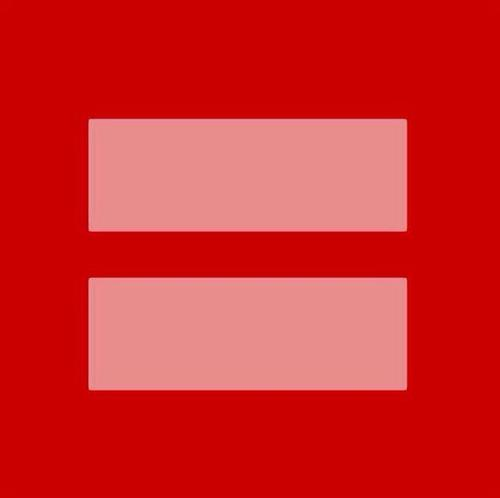 Marriage equality 를 위한 심볼.
