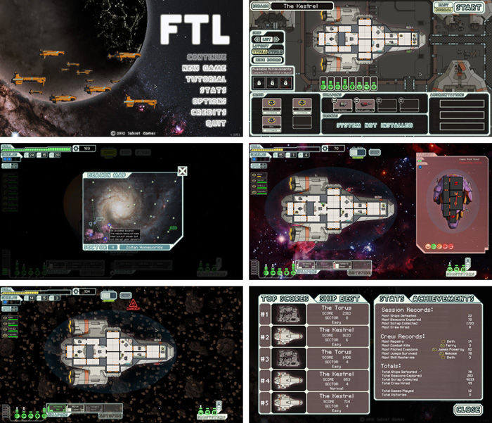 [만화 게임리뷰] FTL: Faster Than Light