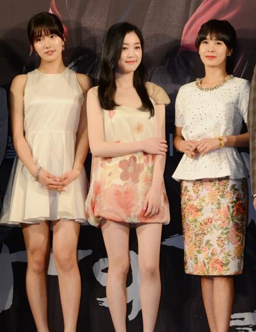 수지, 이유비, 정혜영 3인 3색 매력