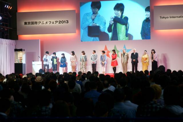 도쿄 국제 애니메이션 페어 2013에서 열린 성우 이벤..