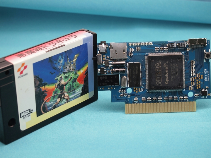 [MSX] ALL NEW!! Micro OCM in the cartridg..