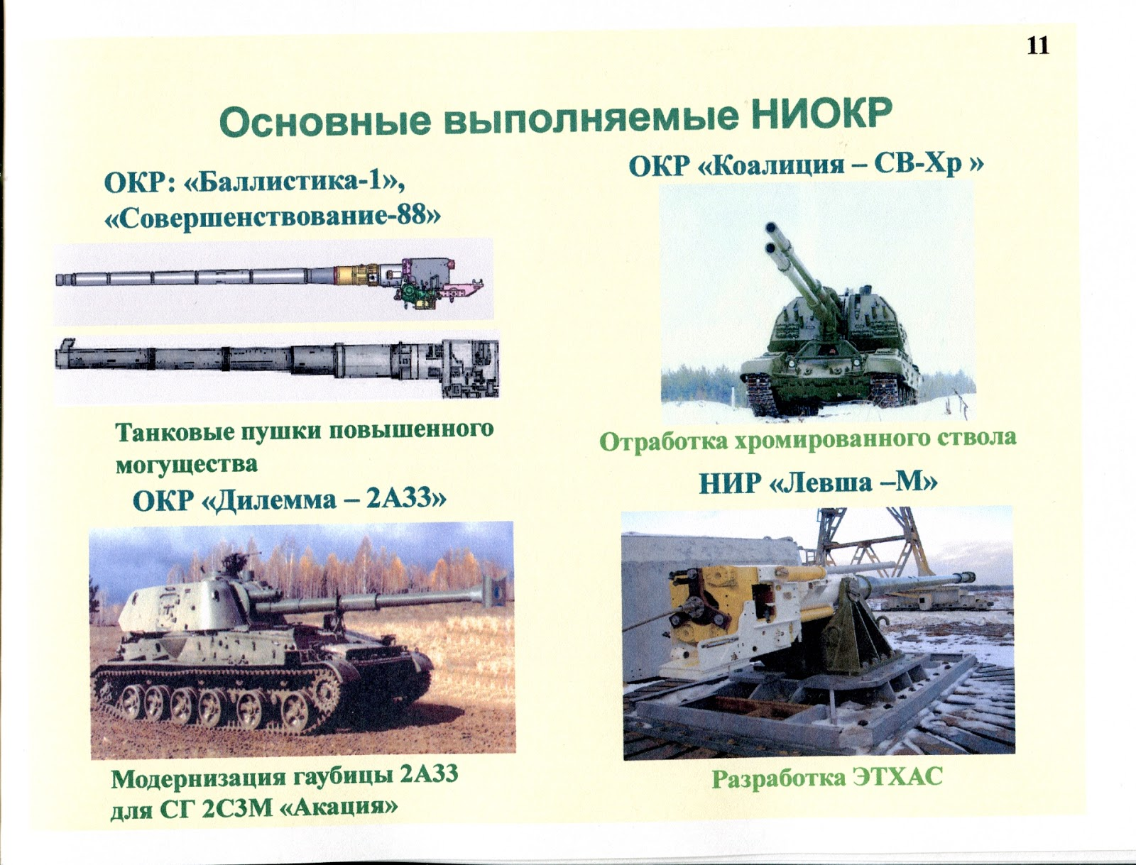 러시아 언론에 처음으로 언급된 전열화학포.Rus