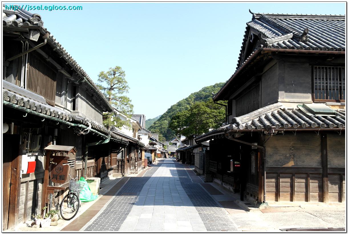 타케하라竹原 거리 산책