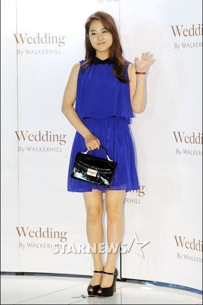 박보영, 더운 여름엔 시원한 블루 드레스!