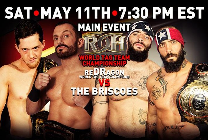 ROH 2013/05/11 Reign Of Dragons Review