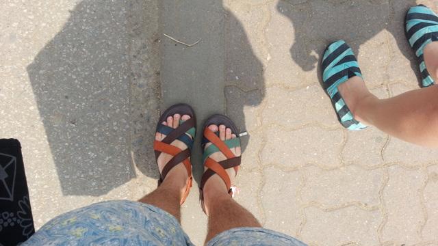 최근 신발