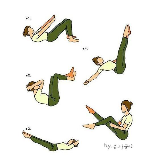 운동을 좀 해야겠다.