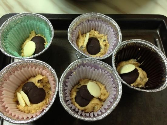 모카 초코칩 머핀