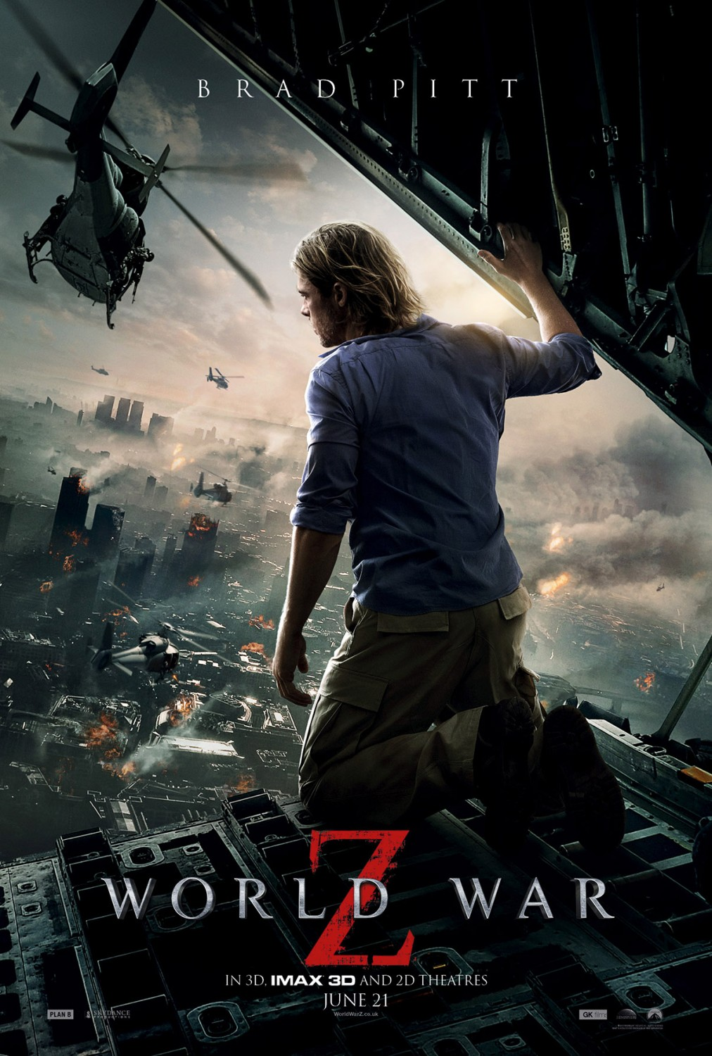 월드워 Z, World War Z, 2013