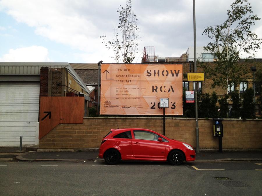 영국 건축학교 전시회 시리즈2- SHOW RCA 2013