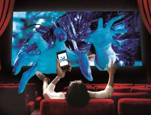 3D입체화면 + 스마트폰 일본 공포영화 '사다코3D 2'..