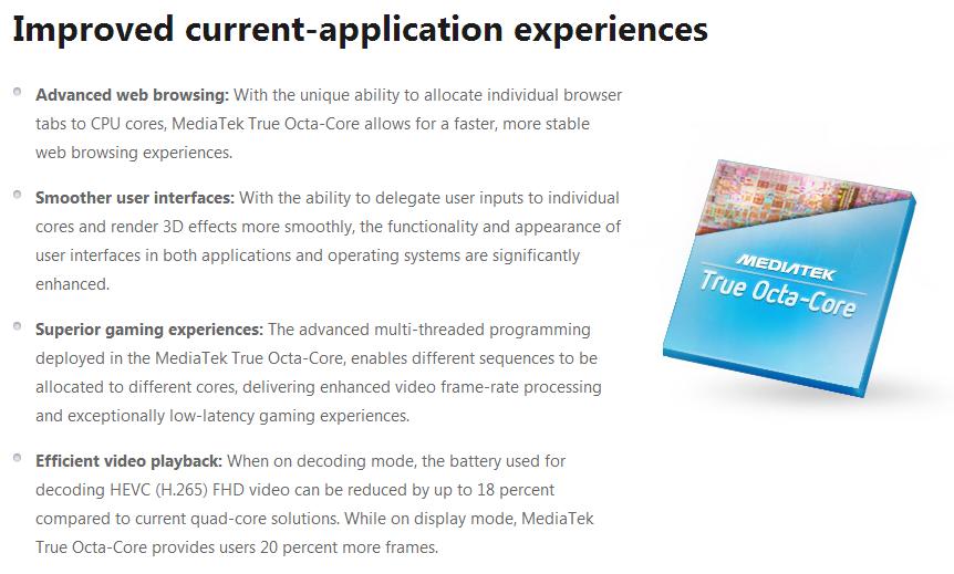 미디어텍, 최초의 진짜 ARM 옥타코어 발표