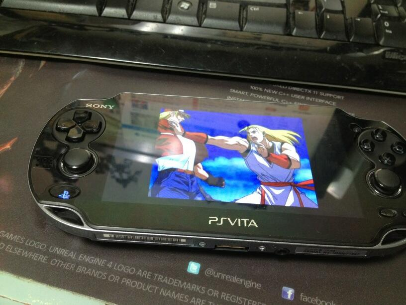 비타로 플스원게임 구동 (VITA)