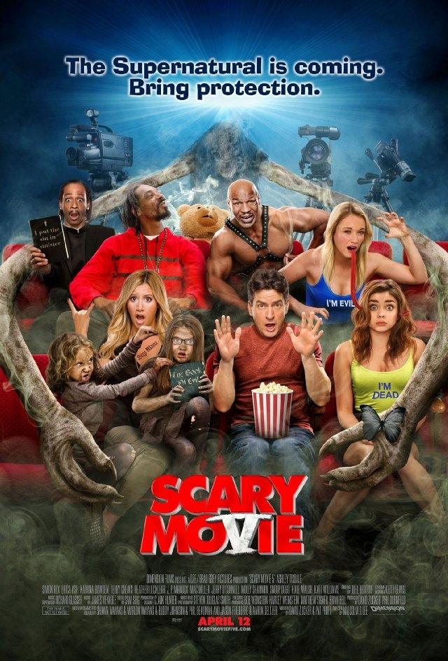 (리뷰) 무서운 영화 5 (Scary Movie 5, 2013)