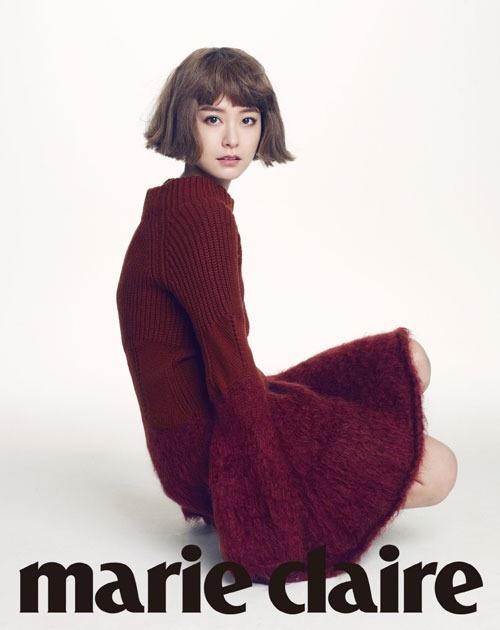 정유미, 파격 헤어 화보 공개