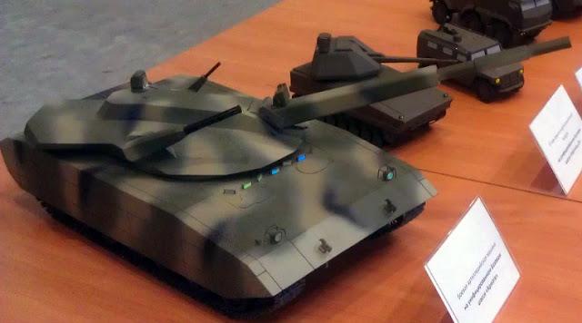 첫 아르마타 전차가 러시아에서 조립되었습니다