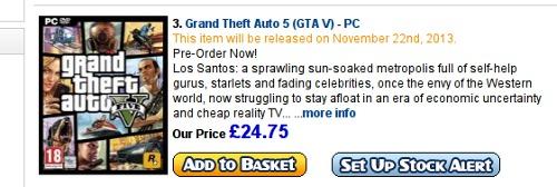 GTA5 PC 버전 출시 일정 유출