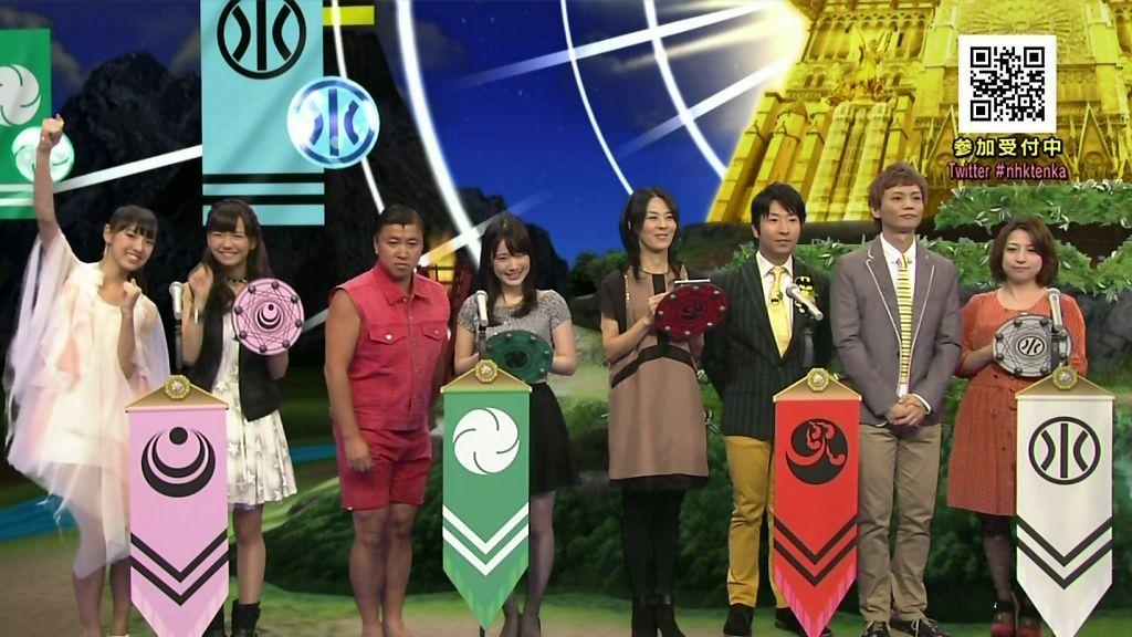 NHK 퀴즈 프로그램, 성우 우치다 마아야, 시미즈..