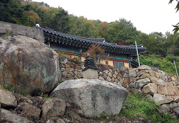 영산 법화암 다층석탑