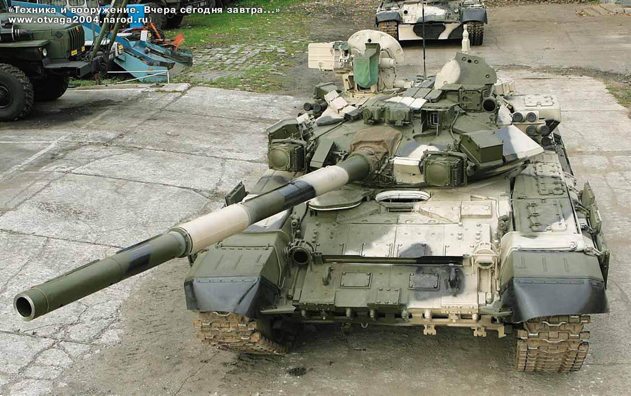 최초의 T-90이 배치된 역사
