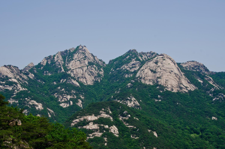 북한산 산행기(의상봉 능선)