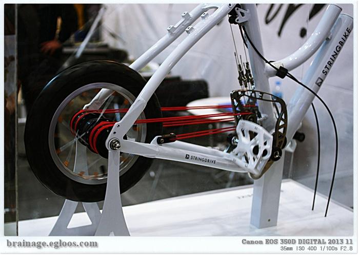 체인 없는 자전거를 위한 두 가지 방법