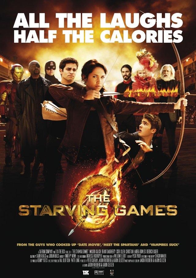 (리뷰) 스타빙 게임 (The Starving Games, 201..