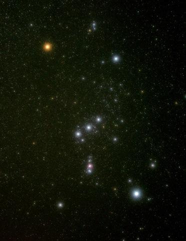겨울철 별자리, `오리온자리(Orion)`