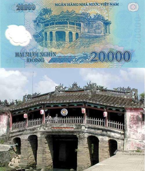 베트남 지폐의 명소 5곳