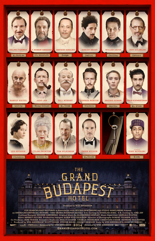 웨스 앤더슨의 The Grand Budapest Hotel의 새..