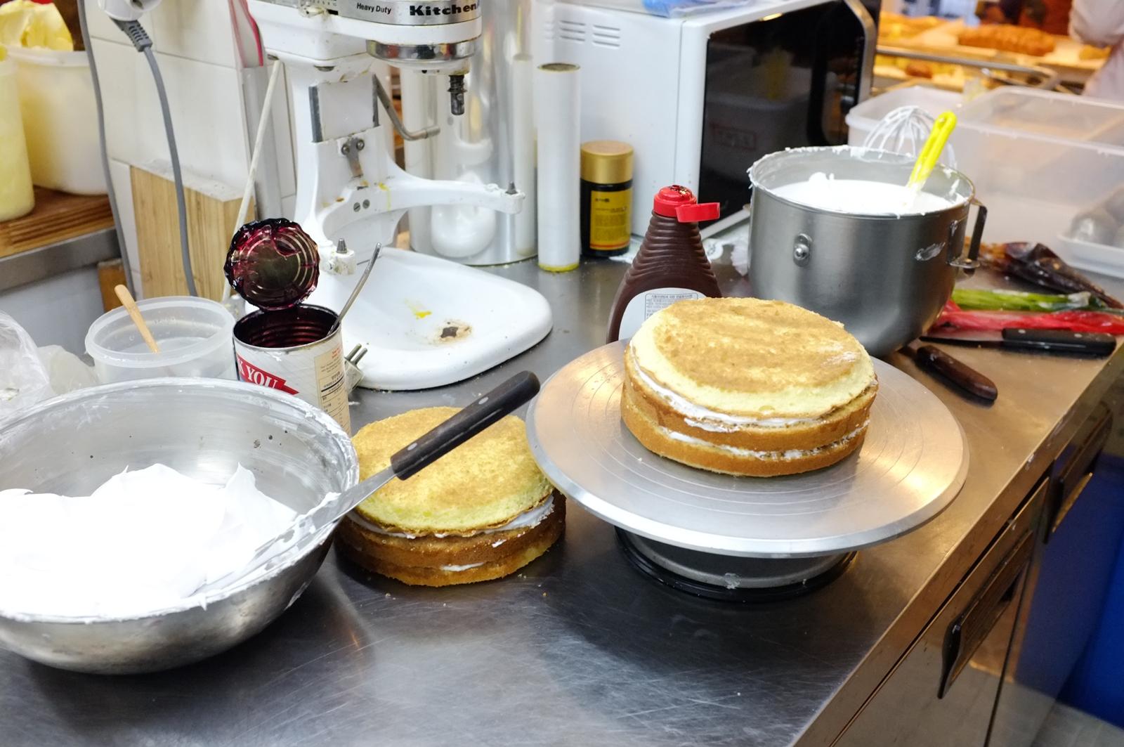 크리스마스 케이크 만들기 체험