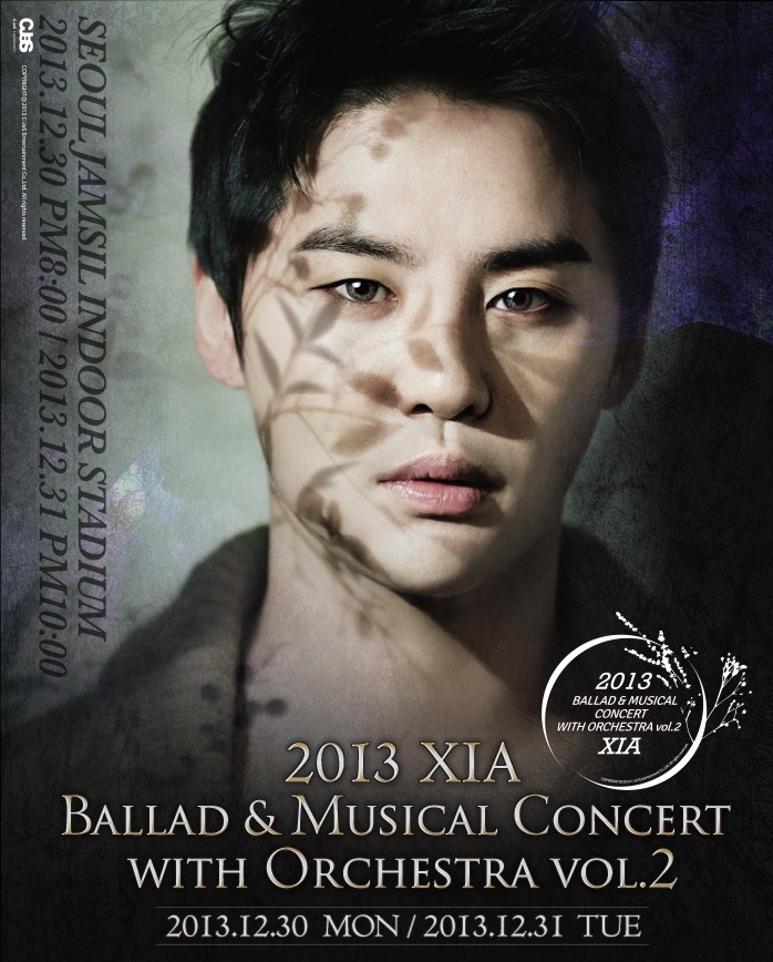 XIA  Ballad & Musical Concert with Orchestra..