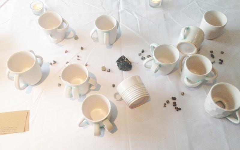 겨울의 그릇 전시 :여러모양새