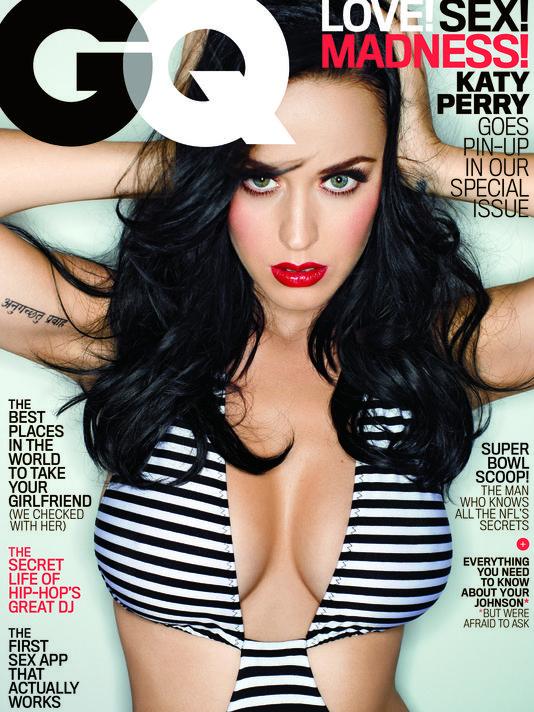 시도하고 싶은 메이크업 4 - Katy Perry for GQ Mag..