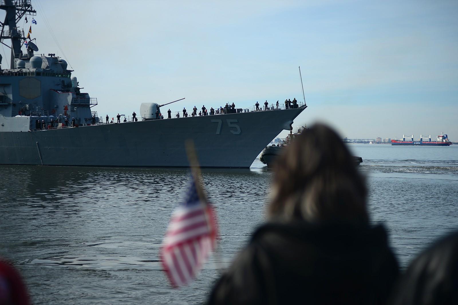 유럽으로 떠난 미 해군의 첫번째 BMD 구축함